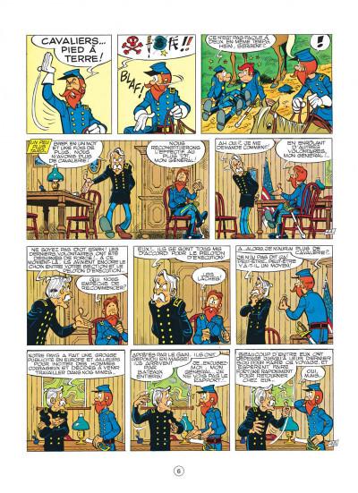 Page 6 les tuniques bleues tome 12 - les bleus tournent cosaques