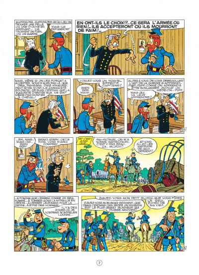 Page 7 les tuniques bleues tome 12 - les bleus tournent cosaques