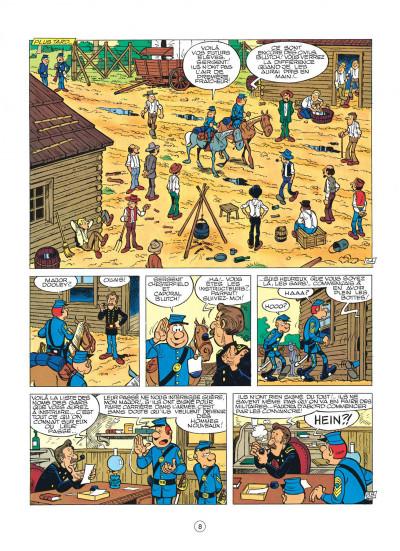 Page 8 les tuniques bleues tome 12 - les bleus tournent cosaques