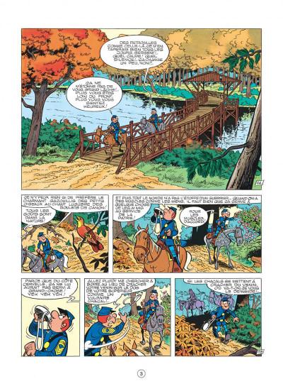 Page 3 les tuniques bleues tome 13 - les bleus dans la gadoue