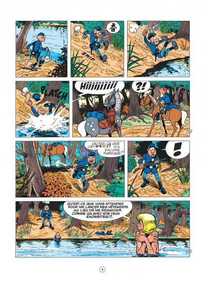 Page 4 les tuniques bleues tome 13 - les bleus dans la gadoue