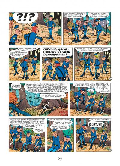 Page 6 les tuniques bleues tome 13 - les bleus dans la gadoue