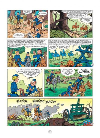 Page 8 les tuniques bleues tome 13 - les bleus dans la gadoue