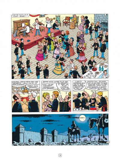 Page 3 les tuniques bleues tome 14 - le blanc-bec