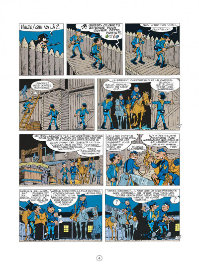 Page 4 les tuniques bleues tome 14 - le blanc-bec