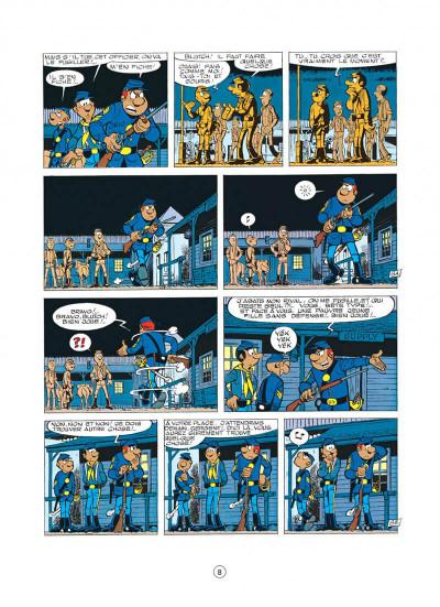 Page 8 les tuniques bleues tome 14 - le blanc-bec