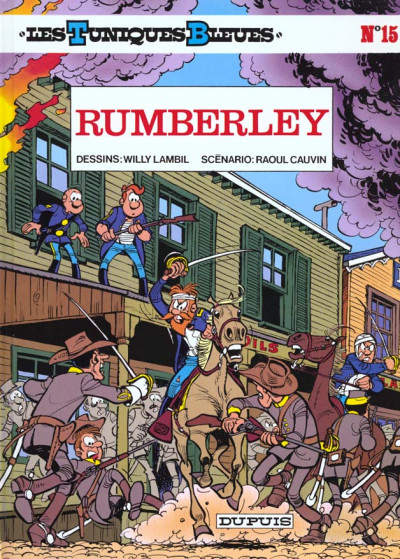 Couverture les tuniques bleues tome 15 - rumberley