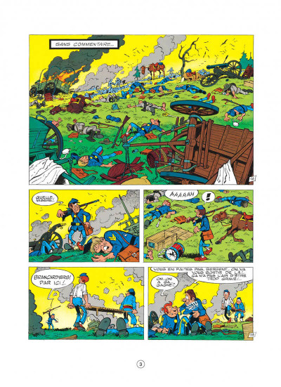 Page 3 les tuniques bleues tome 15 - rumberley