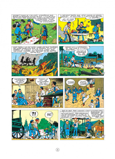 Page 4 les tuniques bleues tome 15 - rumberley
