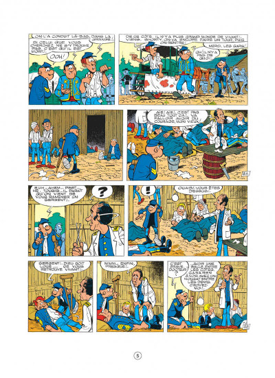 Page 5 les tuniques bleues tome 15 - rumberley