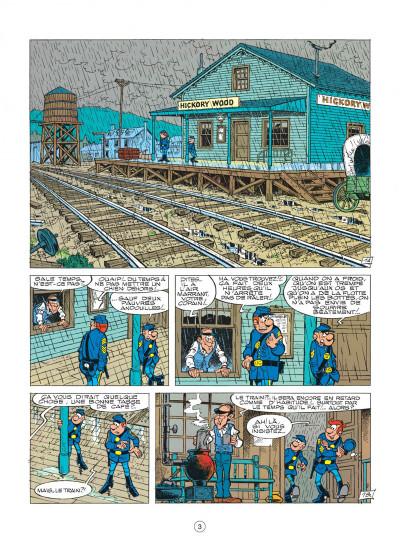 Page 3 les tuniques bleues tome 16 - bronco benny