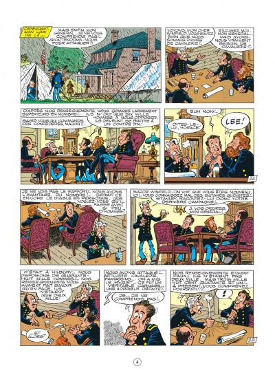 Page 4 les tuniques bleues tome 16 - bronco benny