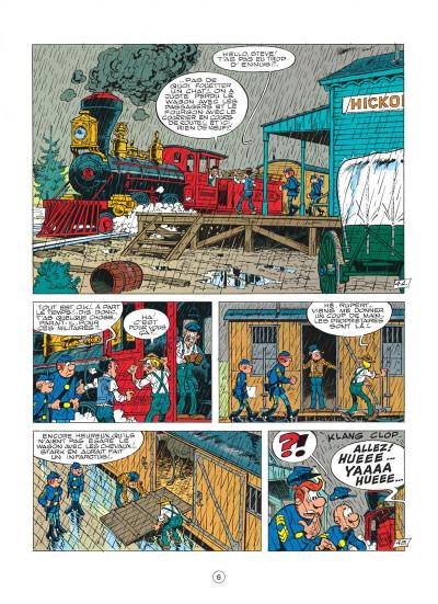 Page 6 les tuniques bleues tome 16 - bronco benny