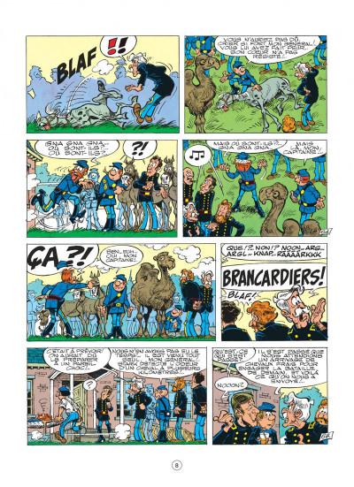 Page 8 les tuniques bleues tome 16 - bronco benny