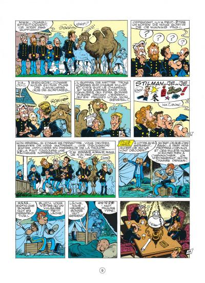 Page 9 les tuniques bleues tome 16 - bronco benny