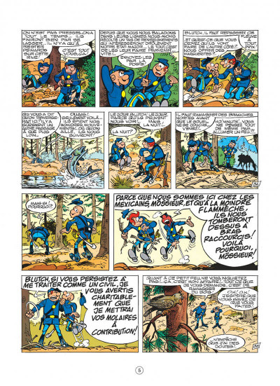 Page 5 les tuniques bleues tome 17 - el padre