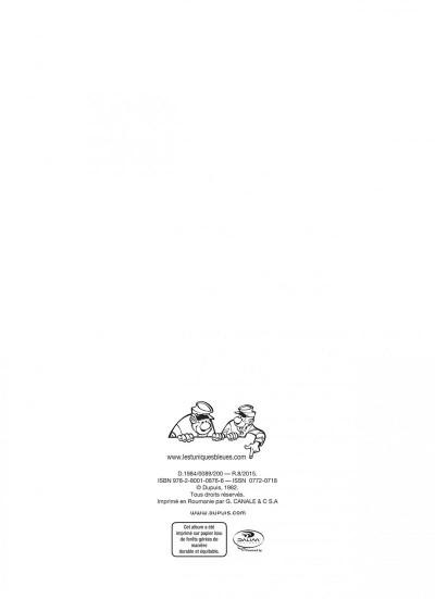 Page 2 les tuniques bleues tome 19 - le david