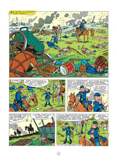 Page 3 les tuniques bleues tome 20 - black face