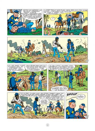 Page 4 les tuniques bleues tome 20 - black face