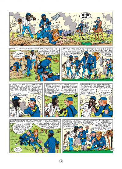 Page 5 les tuniques bleues tome 20 - black face