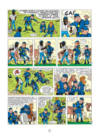 Page 6 les tuniques bleues tome 20 - black face
