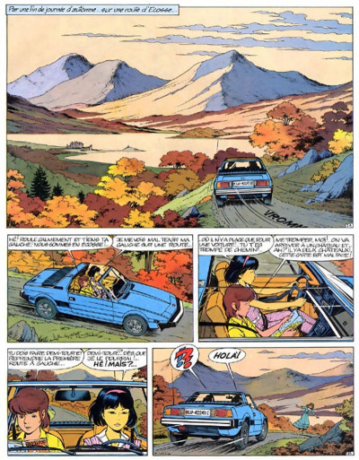 Page 3 yoko tsuno tome 12 - la proie et l'ombre