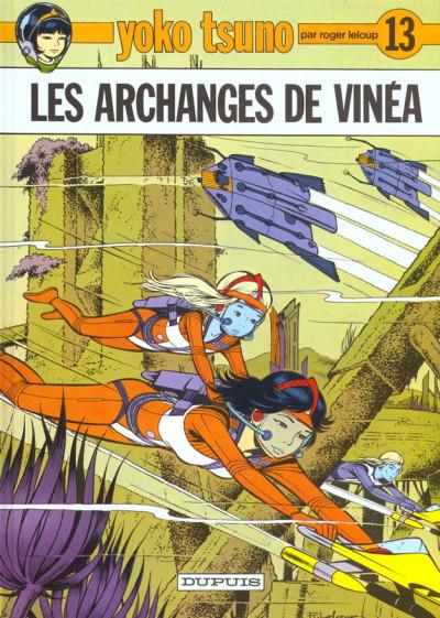 Couverture yoko tsuno tome 13 - les archanges de vinea