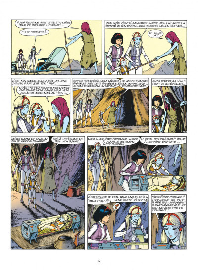 Page 5 yoko tsuno tome 13 - les archanges de vinea