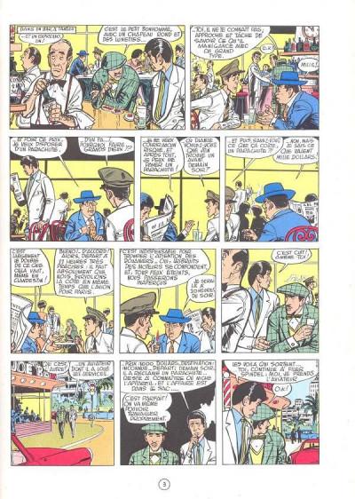 Page 1 Valhardi (série récente) tome 8 - le secret de neptune