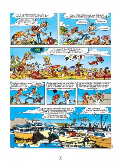 Page 4 spirou et fantasio tome 30 - la ceinture du grand froid