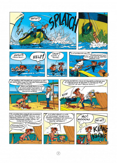 Page 7 spirou et fantasio tome 30 - la ceinture du grand froid