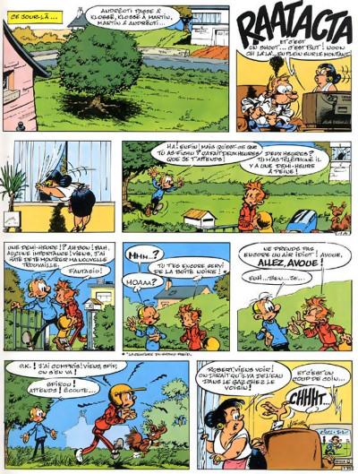 Page 3 spirou et fantasio tome 32 - les faiseurs de silence