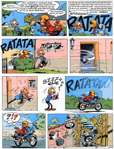 Page 4 spirou et fantasio tome 32 - les faiseurs de silence