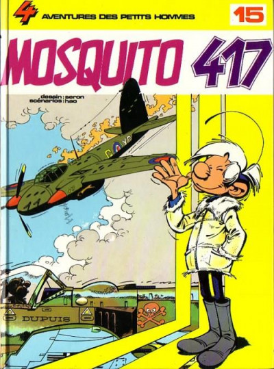 Couverture Les petits hommes tome 15 - mosquito 417