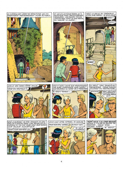 Page 4 yoko tsuno tome 14 - le feu de wotan