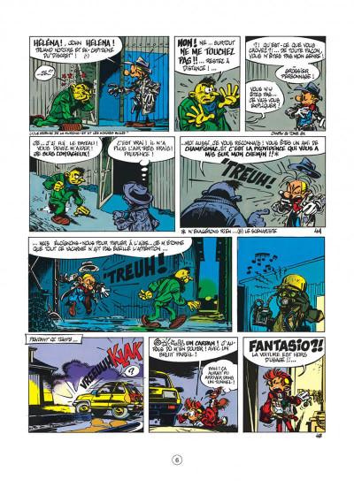 Page 6 spirou et fantasio tome 33 - virus