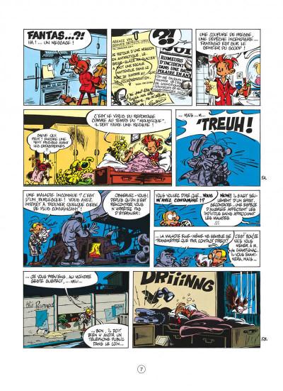 Page 7 spirou et fantasio tome 33 - virus