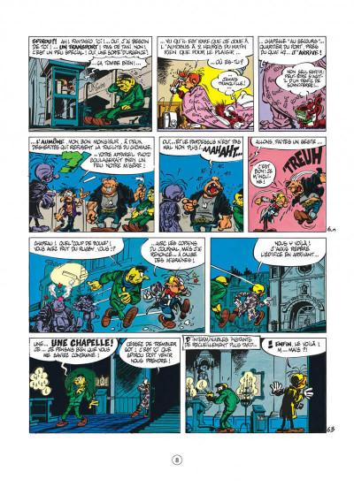 Page 8 spirou et fantasio tome 33 - virus