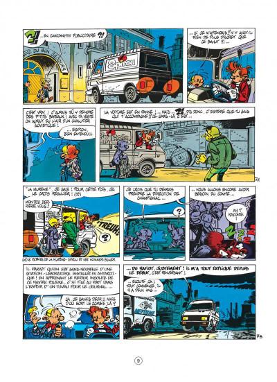 Page 9 spirou et fantasio tome 33 - virus