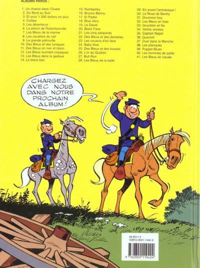 Dos les tuniques bleues tome 21 - les cinq salopards