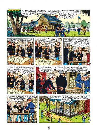 Page 3 les tuniques bleues tome 21 - les cinq salopards