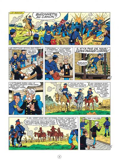 Page 4 les tuniques bleues tome 21 - les cinq salopards