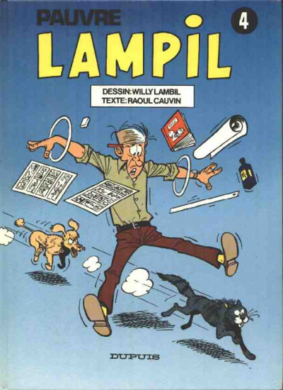 Couverture Pauvre Lampil tome 4