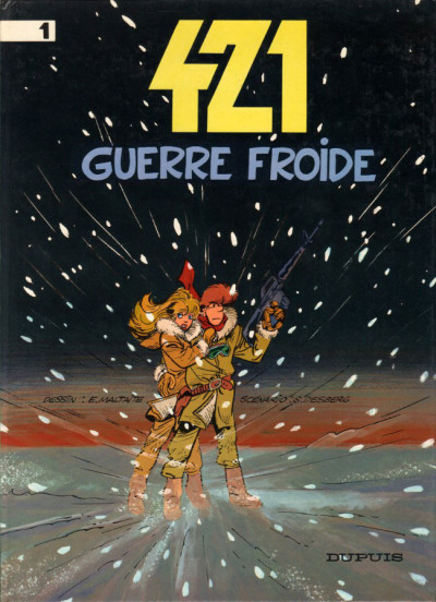 Couverture 421 tome 1 - guerre froide