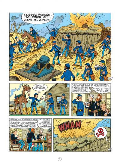 Page 3 les tuniques bleues tome 22 - des bleus et des dentelles
