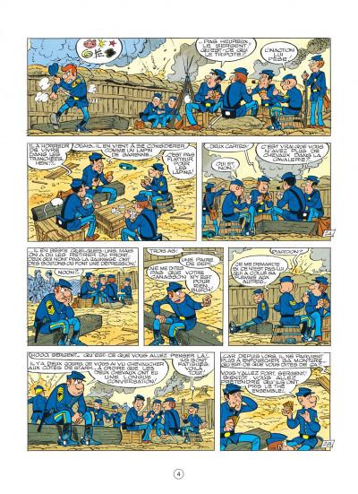 Page 4 les tuniques bleues tome 22 - des bleus et des dentelles