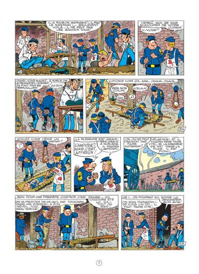 Page 7 les tuniques bleues tome 22 - des bleus et des dentelles