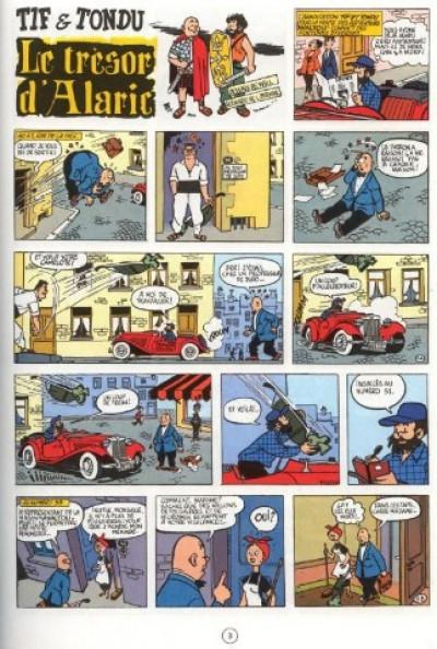 Page 1 tif et tondu tome 2 - le tresor d'alaric