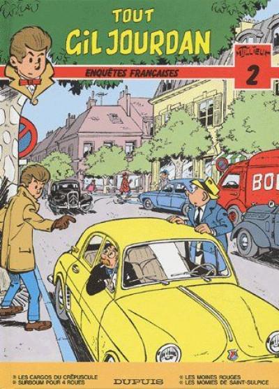 Couverture Tout Gil Jourdan tome 2 - enquêtes francaises