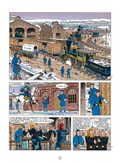 Page 3 les tuniques bleues tome 23 - les cousins d'en face